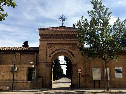 Cementerio - entrada cementerio viejo