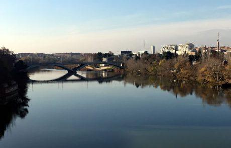 PZL - Río Ebro y Puente Santiago