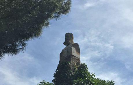 Cementerio - Busto Joaquín Costa