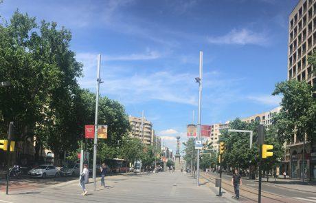 Plaza Aragón - panorámica